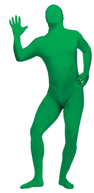 Green Skin Suit Costume