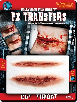 3D FX Cut Throat Transfer