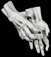 White Ghoul Hands