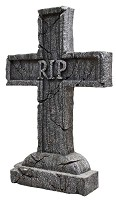 Rest in Peace Cross Tombstone