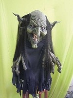 Swamp Witch Hanging Prop