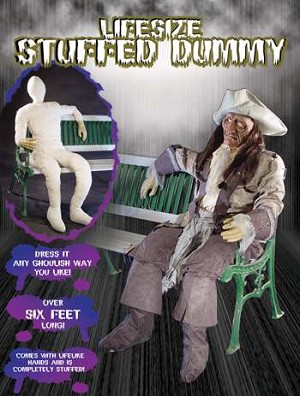 Lifesize Stuffed Dummy