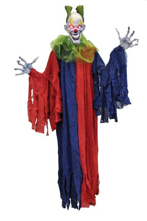 5 Foot Hanging Evil Clown