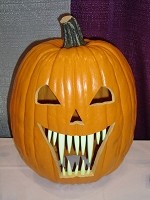 Pumpkin Teeth Small Glow