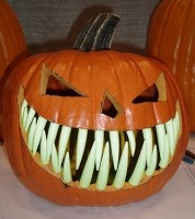Pumpkin Teeth Large Glow