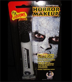 Horror Flesh Makeup Grey