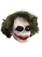 Joker Mask w/hair