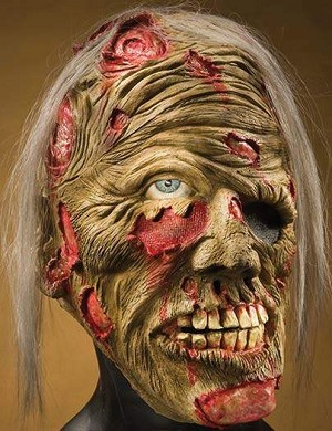 Decomposed Zombie Foam Mask