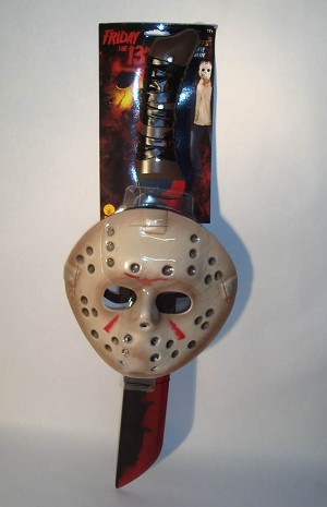 Jason Mask and Machete