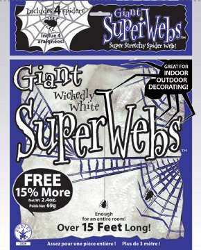 Stretchable Spiderwebs - Large