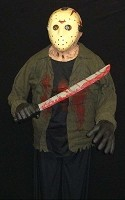 6 Ft. Hanging Jason Voorhees Prop