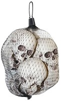 Bag of Small Skulls - 6 Pcs