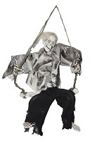 Kicking Skeleton on Swing