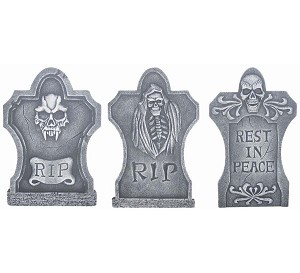 3 in 1 Deluxe Tombstone Set
