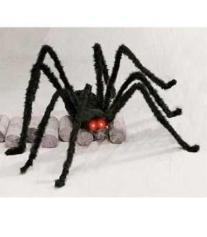 6 Ft. Giant Light Up Black Spider