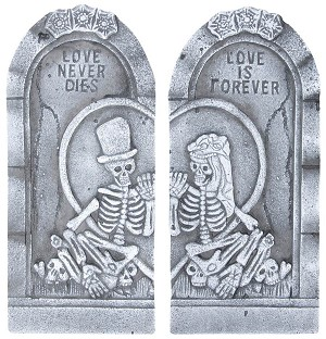 "22"" Tombstone Couple Set"