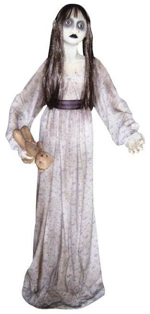 Lifesize Standing Ghostly Girl