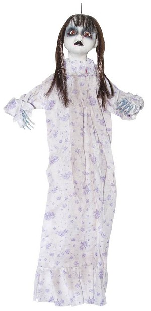 Hanging Bloody Pajama Doll