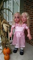 4 FT Two Headed Girl Halloween Prop