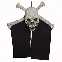 Skull and Crossbones Curtain