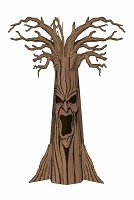 Corrugated Haunted Tree Prop