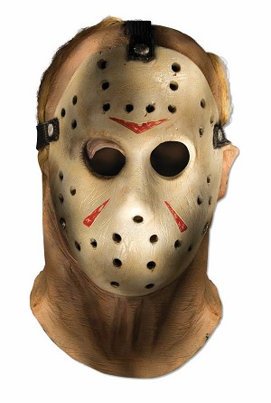 Jason Over the Head Latex Mask