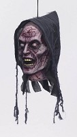 Hanging Zombie Head Prop