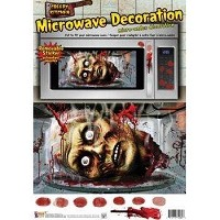 Zombie Microwave Sticker