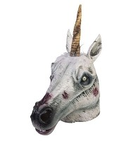 Zombie Unicorn Mask