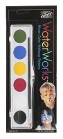 Mehron Water Color Makeup Palette 6 Colors