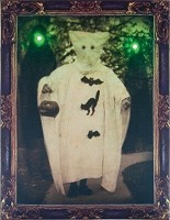 Light-up Vintage Ghosts Photo