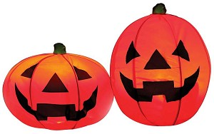 Lighted  Instant Pumpkin Set of 2