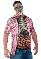 Photo Real Shirt - Skeleton with Guts