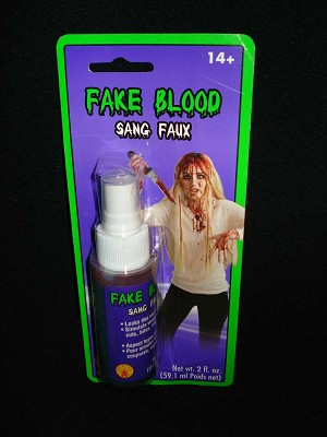 2oz. Fake Blood Spray