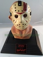 Life Size Jason Voorhees Limited Edition Bust Display