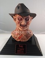 Life Size Freddy Krueger Bust Display