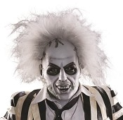 Deluxe Beetlejuice Mask With Hair