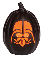 Star Wars Darth Vader Light Up Pumpkin