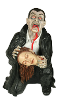Vampire Victim Fiberglass Fountain