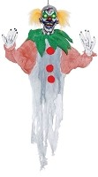 4 Ft Light Up Hanging Clown