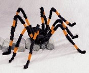 Giant 7.5 Ft. Orange and Black Spider