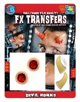 3D FX Devil Horns Transfer