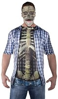 Photo Real Shirt - Skeleton