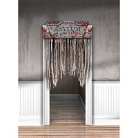 Bloody Asylum Door Curtain