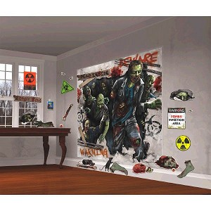 Scene Setters Zombie Wall Decor