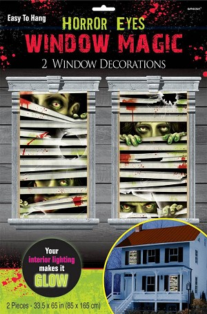 Window Magic Horror Eyes