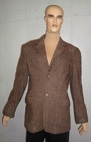 Poseidon Brown Tweed Jacket