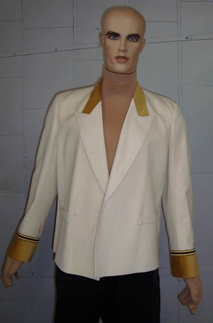 Poseidon Waiter Jacket (Clean - No Poseidon Button)