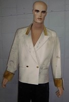 Poseidon Waiter Jacket with Poseidon Button