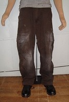Poseidon Brown Cargo Pants